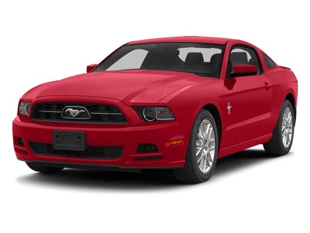 2014 FORD MUSTANG V6 race red black interior 10 miles VIN 1ZVBP8AM8E5277068