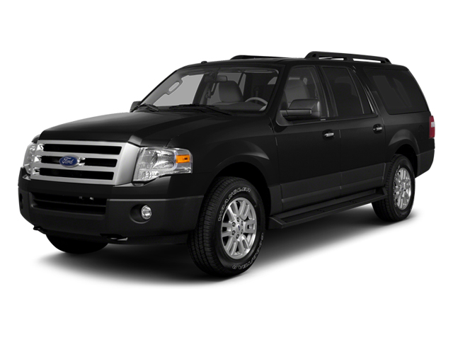 2014 FORD EXPEDITION EL LIMITED tuxedo black metallic charcoal black interior 7 miles VIN 1FMJK
