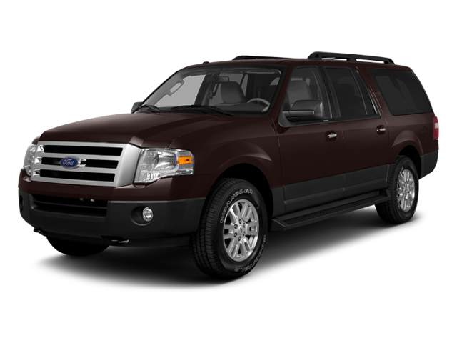 2014 FORD EXPEDITION EL KING RANCH kodiak brown metallic charcoal black wred interior 7 miles V