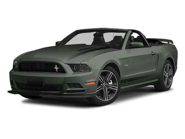 2014 FORD MUSTANG GT PREMIUM sterling gray metallic charcoal black interior 7 miles VIN 1ZVBP8F