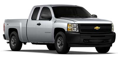 2010 Chevrolet Silverado 1500 Work Truck 4WD Extended Cab  - X7766A