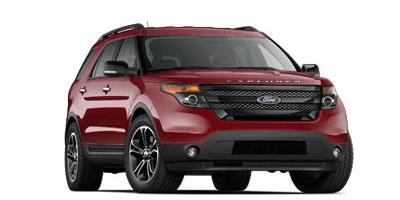 2013 Ford Explorer Spor