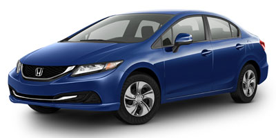 2013 Honda Civic Sdn Manual LX Lease Special