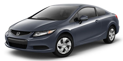 2013 Honda Civic Cpe Manual LX Lease Special