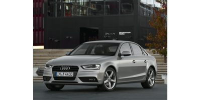 2014 Audi A4 FrontTrak Sedan Lease Special
