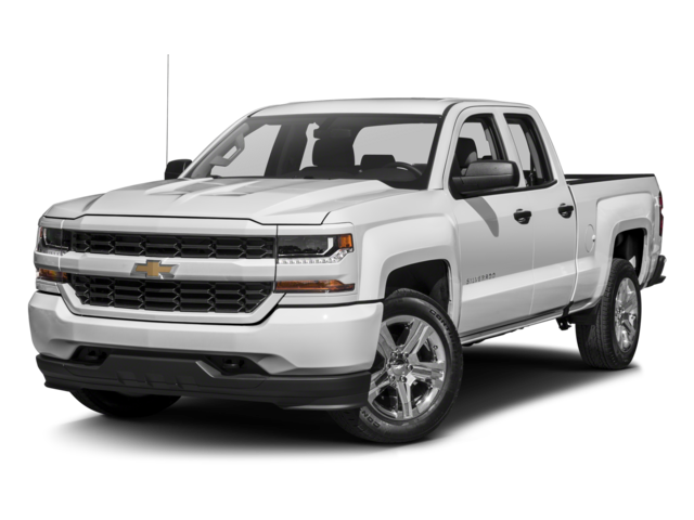 2016 Chevrolet Silverado 1500 4WD Double Cab 143.5 Custom Extended Cab Pickup