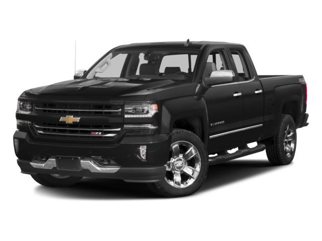 2016 Chevrolet Silverado 1500 4WD Double Cab 143.5 LTZ w/1LZ Extended Cab Pickup