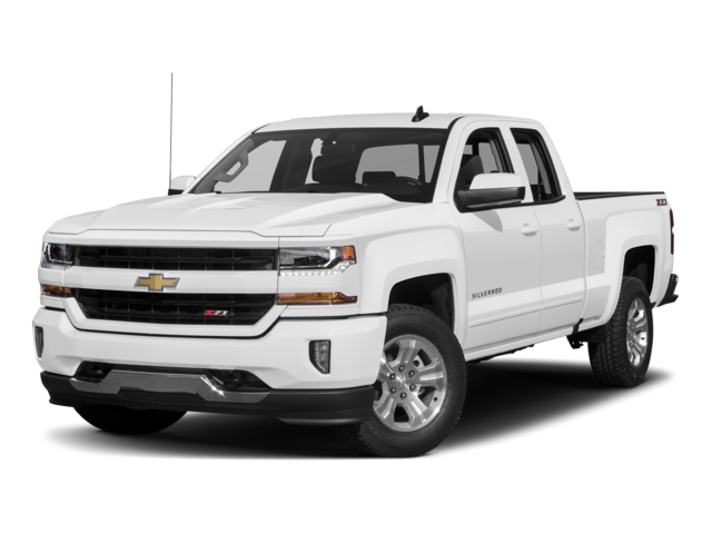 2016 Chevrolet Silverado 1500 4WD Double Cab 143.5 LT w/1LT Extended Cab Pickup
