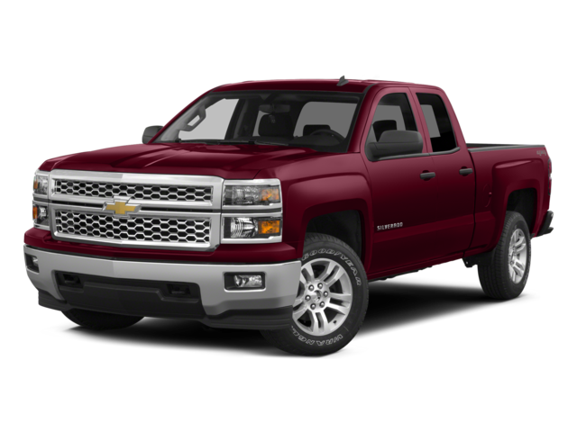 2015 Chevrolet Silverado 1500 4WD Double Cab 143.5 LT w/2LT Extended Cab Pickup
