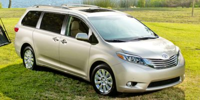 Lease 2017 Sienna L FWD 7-Passenger (Natl) $317.00/mo